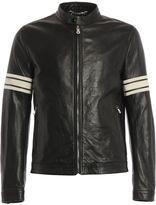 Dolce & Gabbana Dolce Gabbana Biker Leather Zip
