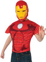 Rubie's Costume Co Iron Man Muscle Top & Mask - Kids