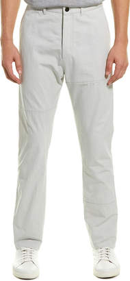 Lanvin Fitted Linen-Blend Pant