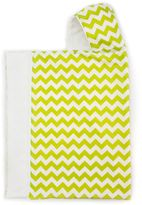 B.ella BundlesTM Snap Hooded Towel in Lime Chevron