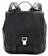 Black Leather Backpack - ShopStyle