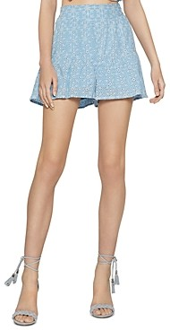 BCBGeneration Cotton Eyelet Shorts