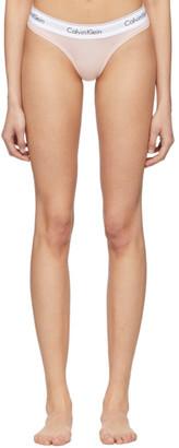 Calvin Klein Underwear Pink Modern Thong