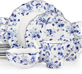 222 Fifth 16-Pc. Sydney Blue Dinnerware Set