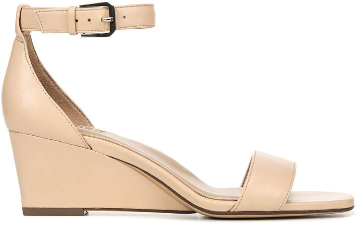 Naturalizer Zenia Leather Wedge Sandals