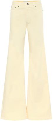 Matthew Adams Dolan High-rise flared jeans
