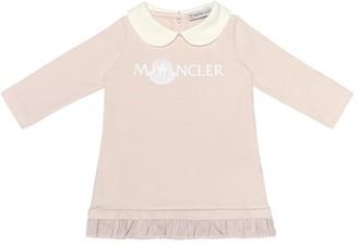 Moncler Enfant Baby stretch-cotton jersey dress