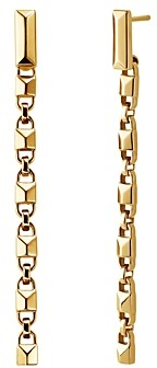 Michael Kors Mercer Link Sterling Silver Drop Earrings in 14K Gold-Plated Sterling Silver, 14K Rose Gold-Plated Sterling Silver or Solid Sterling Silver