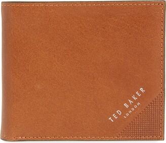 Ted Baker Prug Leather Bifold Wallet