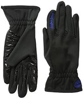 Timberland Men's Stretch Glove Boot Print Palm with Touchscreen Technology