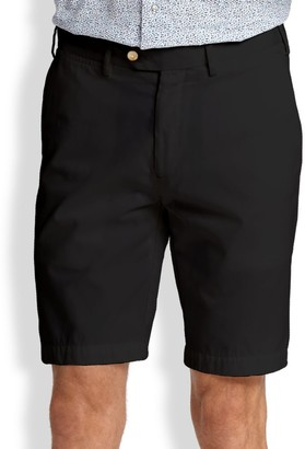 Saks Fifth Avenue COLLECTION Cotton Oxford Shorts