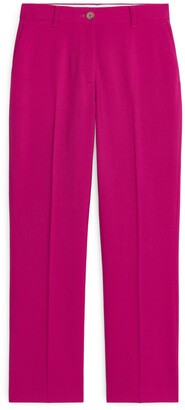 Arket Wool Hopsack Trousers