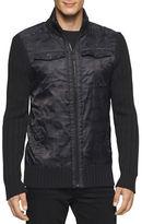 Calvin Klein Jeans Cargo Mixed Full Zip Sweater