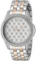 Armani Exchange Women's AX5249 Two Tone Watch