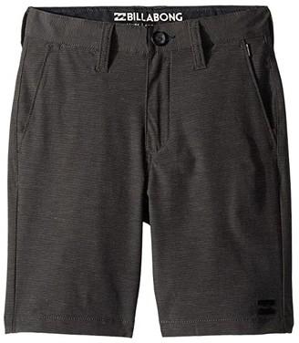 Billabong Kids Crossfire X Shorts (Big Kids) (Asphalt 2) Boy's Shorts