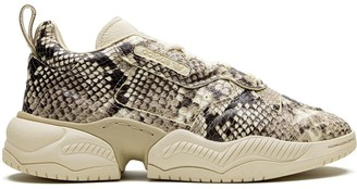 adidas Supercourt RX snakeskin sneakers