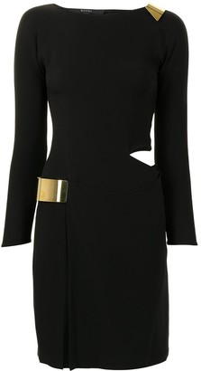 Gucci Pre-Owned Cut-Out Fitted Dress