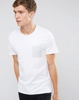 Selected T Shirt with Contrast Pocket