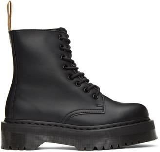 Dr. Martens Black Vegan Jadon 2 Mono Platform Boots