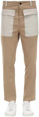Department Five Gabardine Pants W/Contrasting Pockets