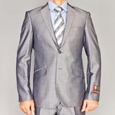 Fiorelli Giorgio Shiny Grey Slim-Fit Suit