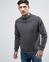 Barbour International Sweatshirt Small Lozenge Logo In Charcoal