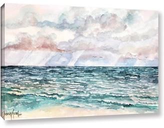 ArtWall Derek Mccrea Lavender Seascape Wall Art
