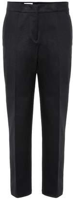 Jil Sander Mid-rise cotton cigarette pants