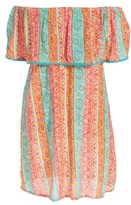Billabong Girl's Cabana Ana Off The Shoulder Dress