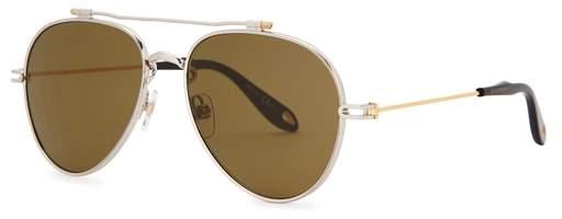 Givenchy GV 705 Aviator-style Sunglasses