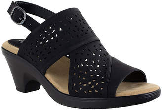 Easy Street Shoes Womens Charleigh Heeled Sandals