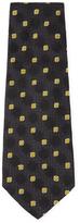 Chanel Vintage Black Silk Jacquard Tie