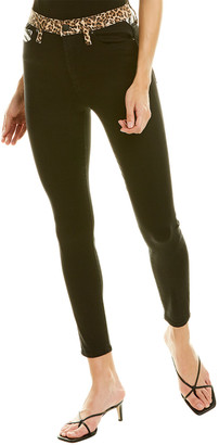 Alice + Olivia Good High-Rise Queen Of The Night Ankle Skinny Leg Jean