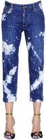 DSQUARED2 Tie & Dye Tomboy Cotton Denim Jeans