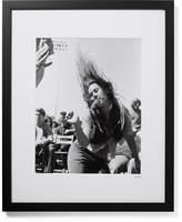 Sonic Editions Framed Folk Rock Festival Print, 17 X 21 - Black