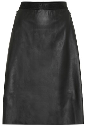 Wolford Estella faux-leather skirt