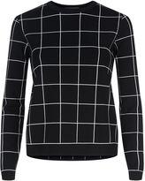 Valentino Grid Sweater