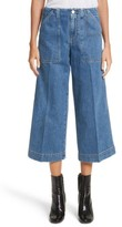 Acne Studios Women's Texa Wide Leg Crop Jeans