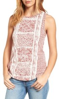 Lucky Brand Women's Red Tank