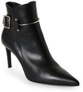 Balenciaga Black Pierce Pointed Toe Ankle Booties