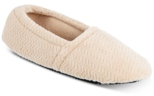 Isotoner Signature Women's Chevron Closed-Back Slippers