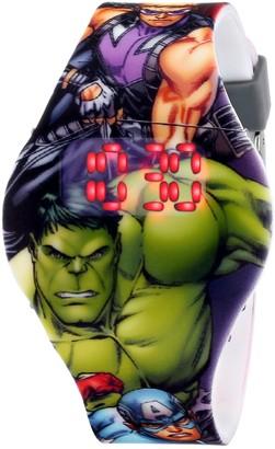 Marvel The Avengers Kids' AVG1518 Digital Display Analog Quartz Grey Watch