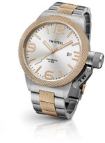 TW Steel Canteen CB126 Two Tone Rose Gold Automatic Mens Watch