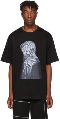 Juun.J Black Karel Funk Print T-Shirt