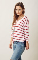 Blue Life STRIPED LACE BACK BEST BUM TEE
