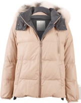 Brunello Cucinelli Leather Puffer Jacket