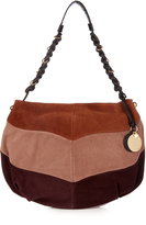 See by Chloe Madie block-colour suede shoulder bag
