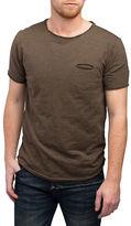 Rogue State Raw Edge Crew Neck T-Shirt