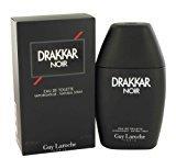 Guy Laroche Drakkar Noir By For Men. Eau De Toilette Spray 6.7 Ounces