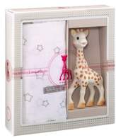 Infant Sophie La Girafe 'Sophiesticated' Swaddling Cloth & Teething Toy